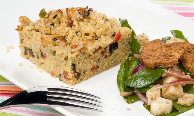 Receta De Ensalada De Quinoa Y Espinacas Eva Arguiñano