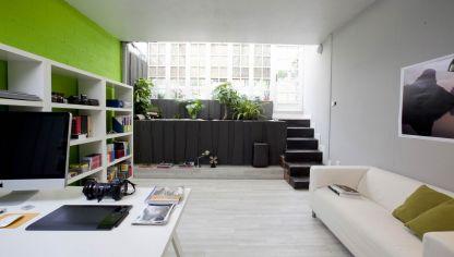 Espacio de trabajo organizado y acogedor decogarden for Como decorar un estudio de 35 metros