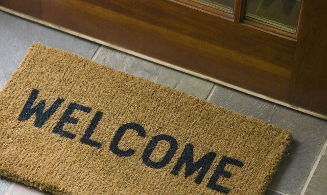 Limpiar el felpudo en seco hogarmania - Felpudo entrada casa ...