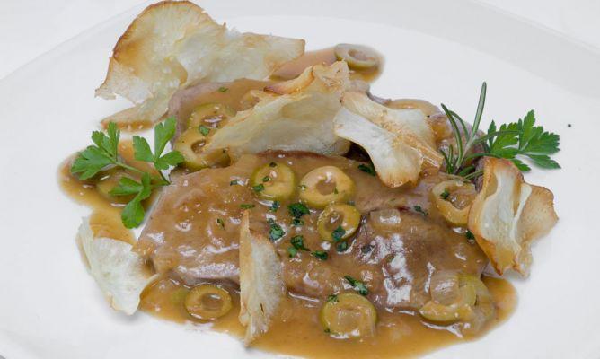 Receta de filetes en salsa con aceitunas verdes bruno oteiza - Filetes de carne en salsa ...