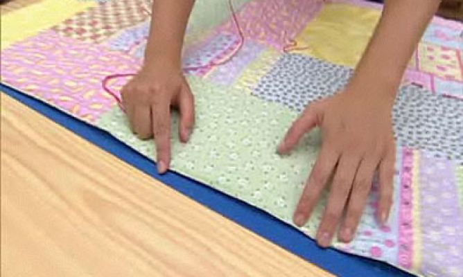 Colcha o manta de patchwork Hogarmania