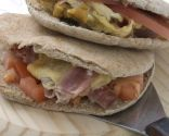 Gargantuas o sándwich en pan de pita
