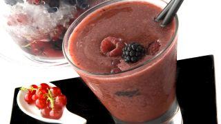 Granizado de frutos rojos