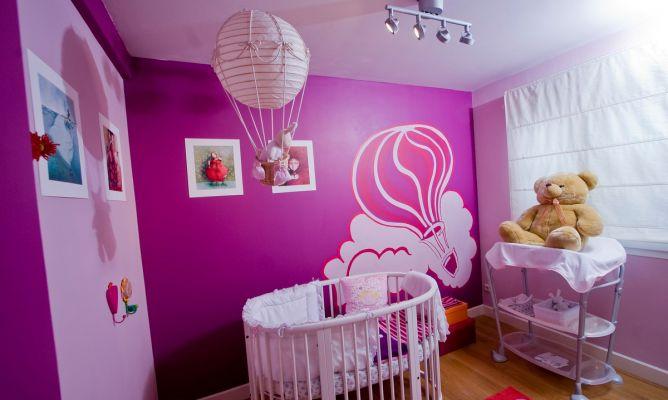 Decorar habitaci n de beb decogarden - Decoracion para habitacion de bebe nina ...