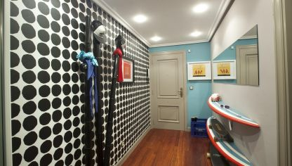 Hall de estilo surfero