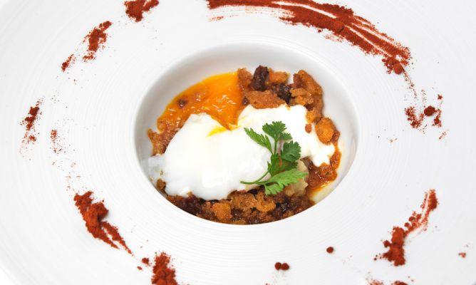 Receta de huevo a baja temperatura con migas bruno oteiza for Cocina baja temperatura