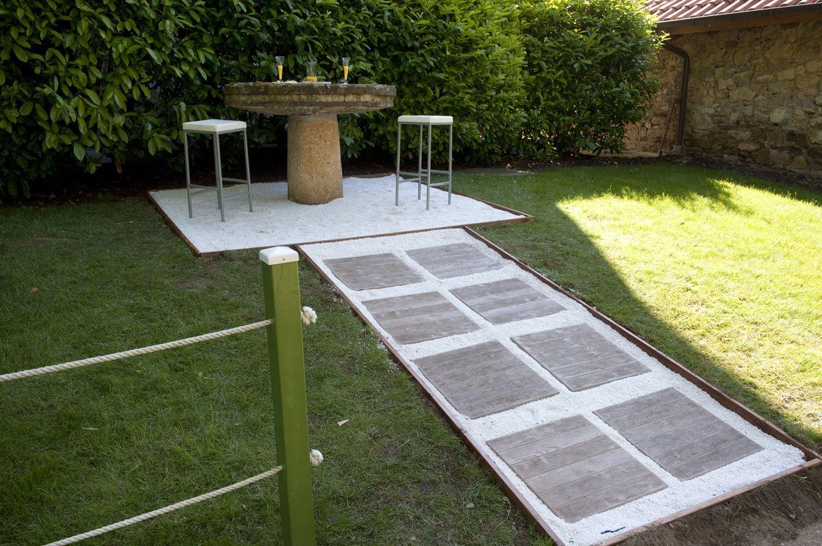 Senderos para el jardín