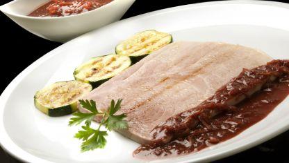 Receta de torrija salada con jam n y cherrys enrique - Salsa para bogavante cocido ...