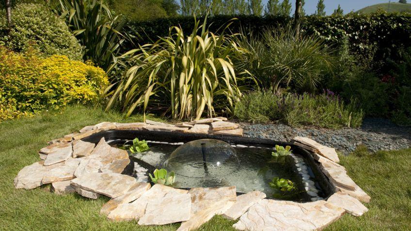 estanque para jardn bricomana - Estanques Jardin