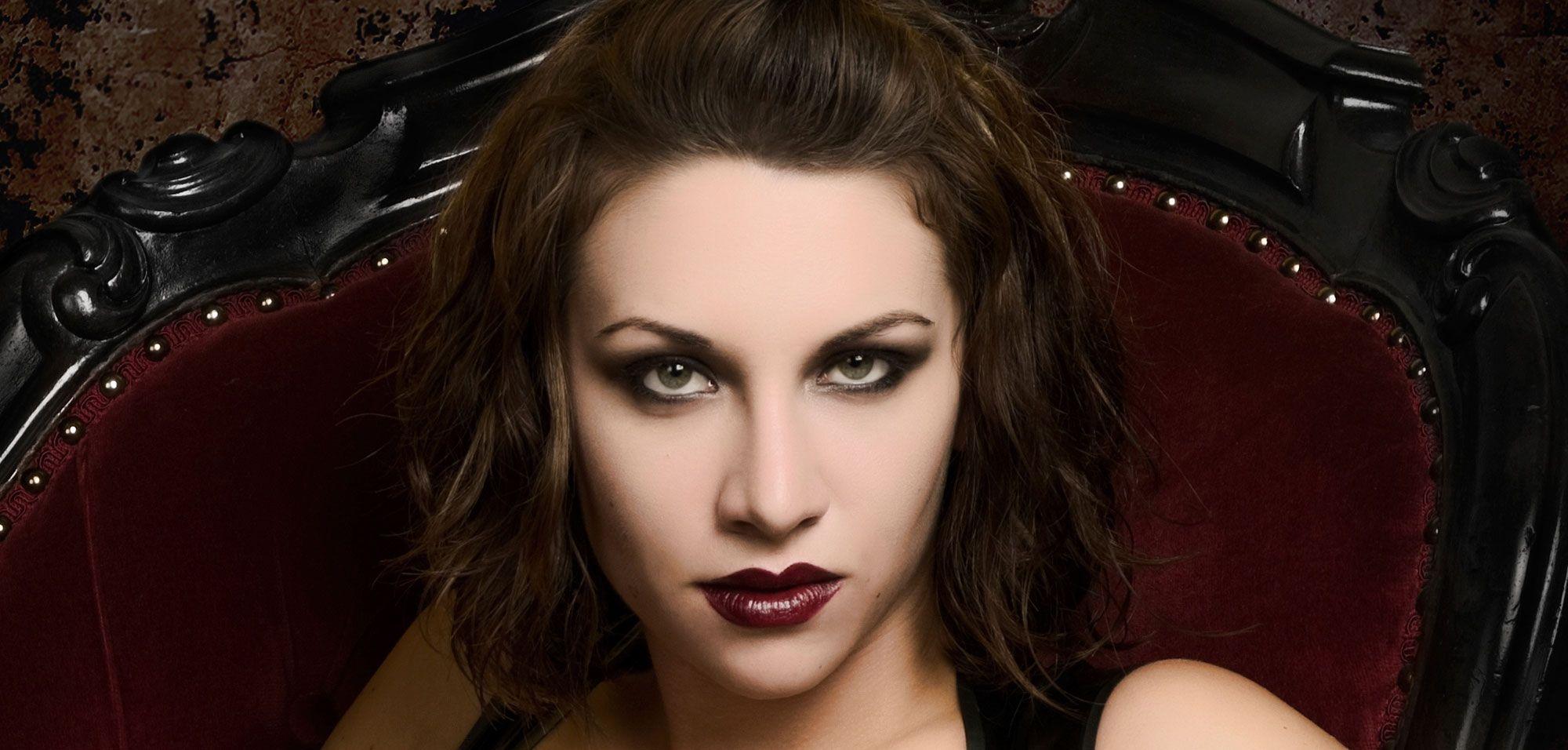 piel maquillaje vampiresa