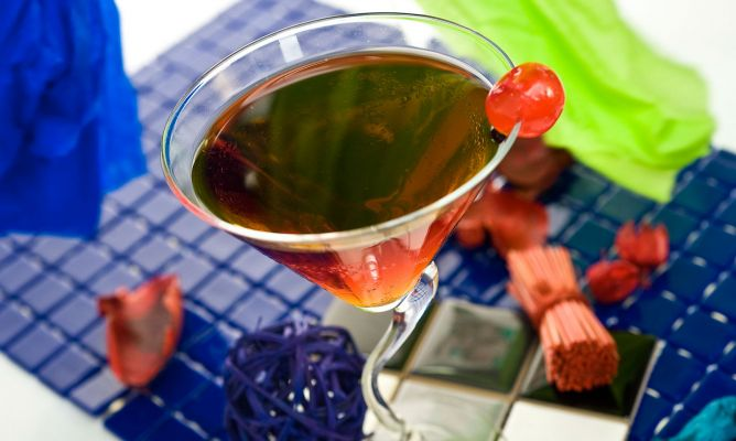 Receta de Manhattan (con alcohol)