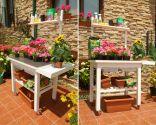 Mesa para jardinería