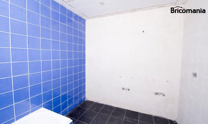 Qu tipo de pintura utilizar en ba os y cocinas bricoman a - Pintura para azulejos bano ...
