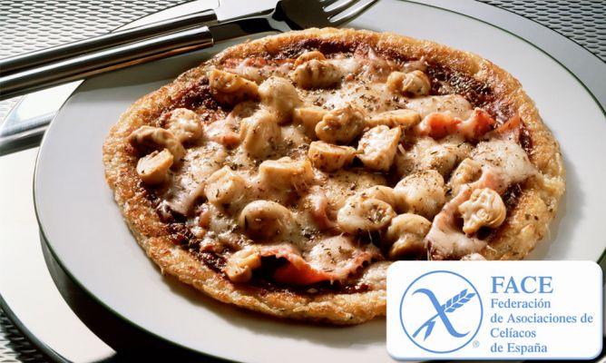 Resultado de imagen de pizza de celiaco