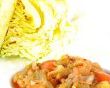 Repollo con patatas y zanahorias