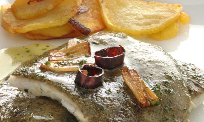 Como Cocinar El Rodaballo | Receta De Rodaballo Asado Con Refrito Karlos Arguinano