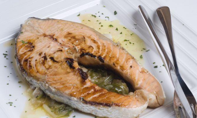 Recetas con salmon blanco en rodajas