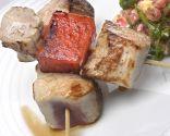 Receta de Solomillo de cerdo con sandía