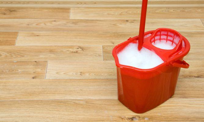 Limpiar suelos de madera o gres hogarmania - Productos para parquet ...