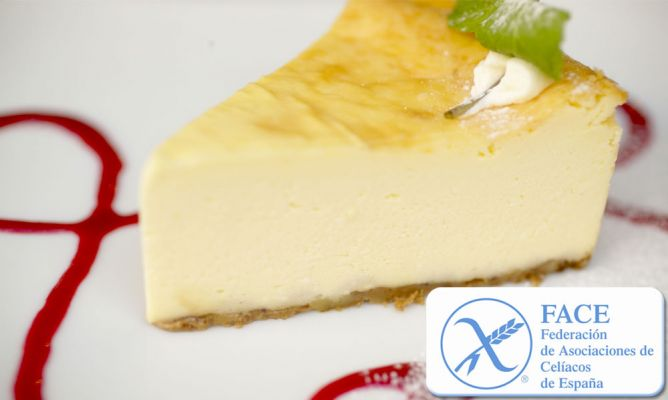 Receta De Tarta De Queso Para Celíacos Sin Gluten Federación De Asociaciones De Celíacos De