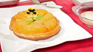 tarta tatin de piña