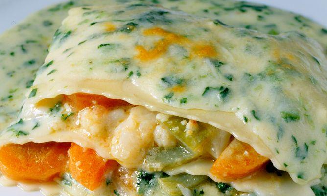 Receta de lasa a de verduras tradicional karlos argui ano - Hacer menestra de verduras ...