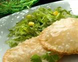 Empanadillas orientales con ensalada