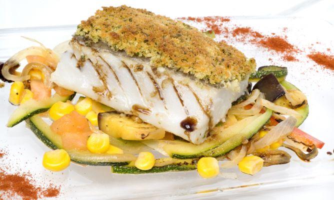 Como Cocinar El Bacalao Desalado | Receta De Bacalao Desalado En Costra Picante Enrique Fleischmann