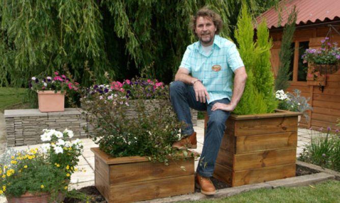 hacer jardineras de madera