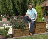 jardinera apilable