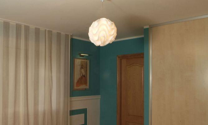 Instalaci n de l mpara en techo de habitaci n bricoman a - Instalar lampara techo ...