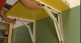 Mesa abatible bricoman a - Mesas abatibles de pared ...