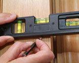 Instalacion de pestillo en puerta