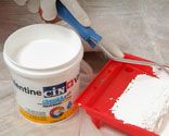 Pintar la humedad de la pared del s tano bricoman a - Como tratar la humedad en las paredes ...