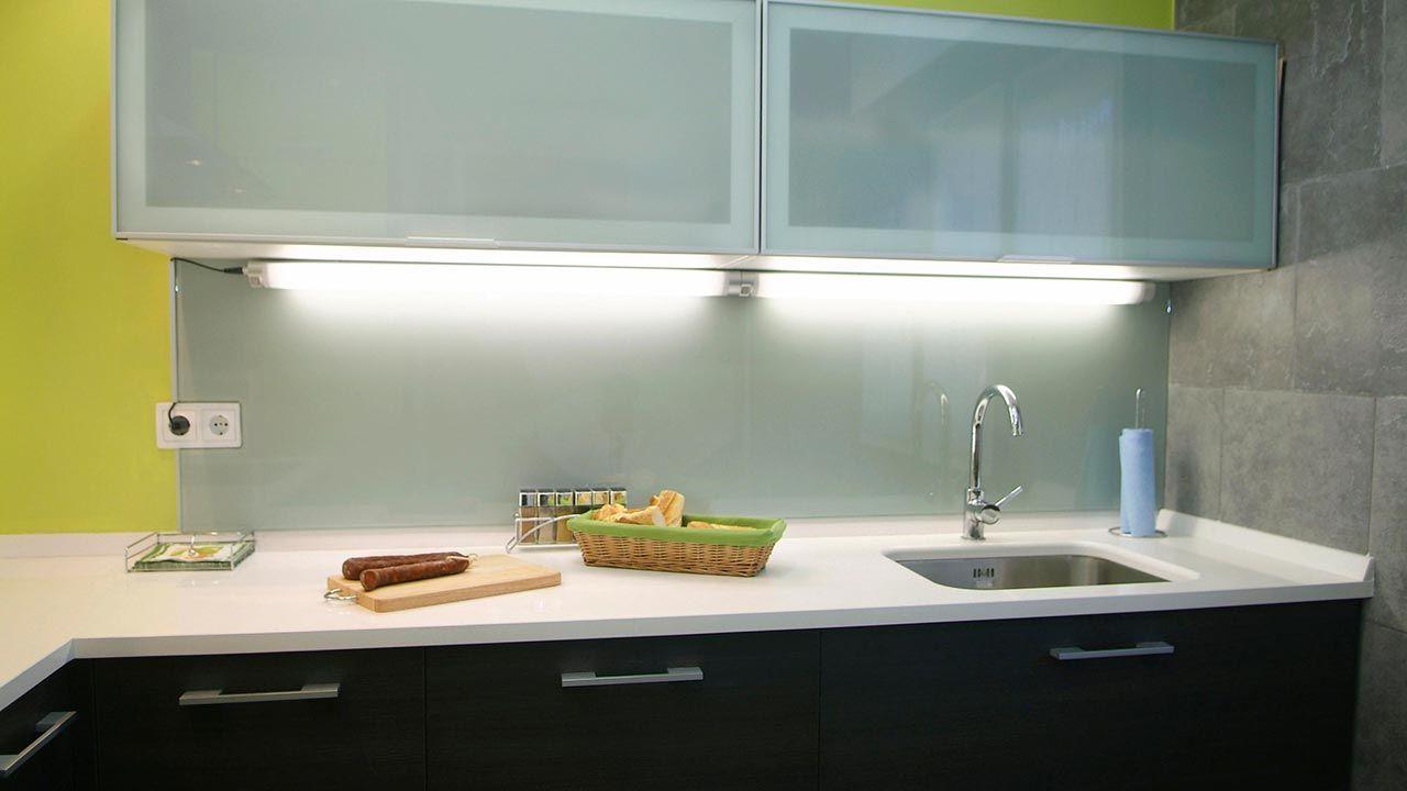 Iluminación para encimera de cocina