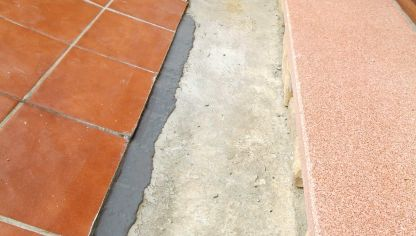 Baldosas exterior brico depot dise o belle maison - Suelo exterior brico depot ...