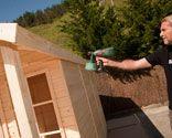 Caseta de madera - Cómo aplicar el lasur