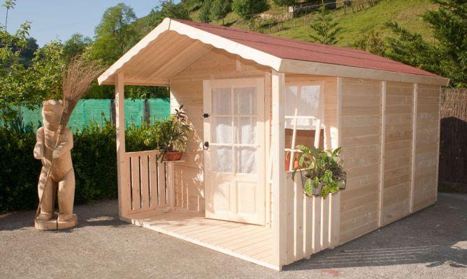 Caseta de madera bricoman a for Caseta madera exterior