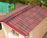 tejado fácil de instalar