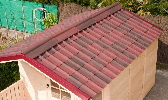Tejado f cil de instalar bricoman a - Material para tejados ...