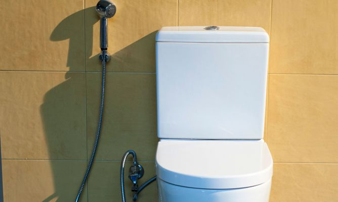 Inodoro con ducha bricoman a for Partes de una ducha telefono
