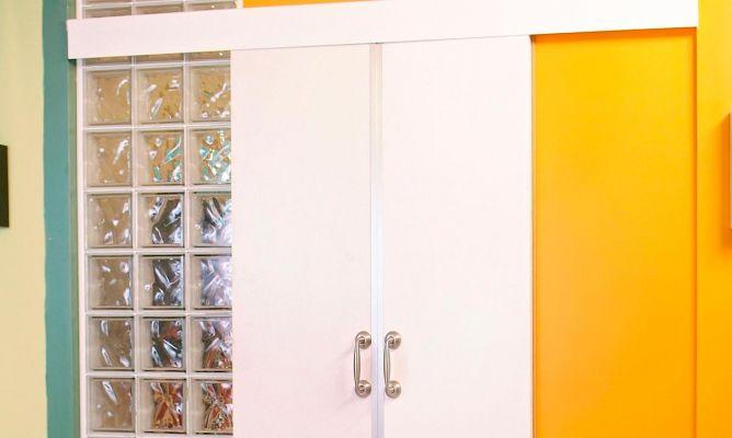 Puerta corredera bricoman a for Construir puerta corredera