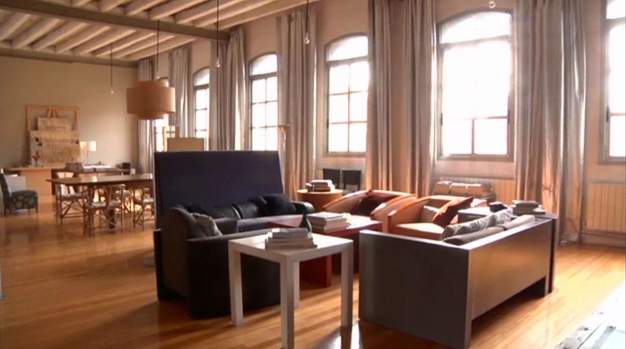 Loft de estilo industrial neoyorquino hogarmania for Muebles reciclados para un estilo industrial