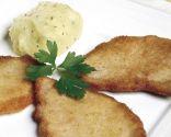Lomo de cerdo con puré de patatas