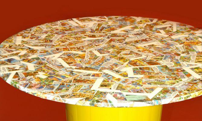 Mesa c mic con asiento decogarden - La mesa camilla ...