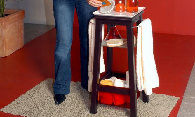 Mueble auxiliar para ba o decogarden for Mueble auxiliar bano
