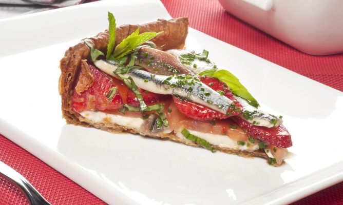 Receta De Tarta De Mozzarella Y Tomate Bruno Oteiza