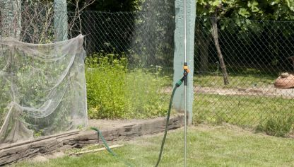 Soluci n para instalar una lavadora sin desag e bricoman a for Arreglar jardin abandonado