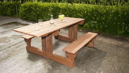 Construcción de mesa básica de madera - Bricomanía