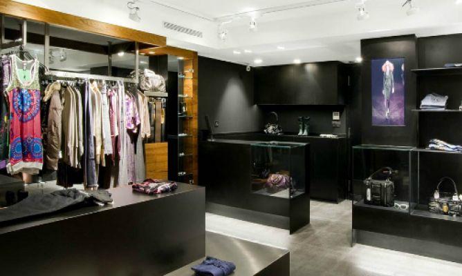 Local sofisticado y elegante hogarmania for Decoracion de interiores locales de ropa